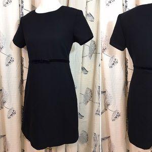 EUC 60s Style Little Black Dress Mod Mini Retro